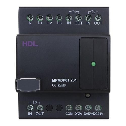 三相电表每相只有一个回路,最大允许10a电流.